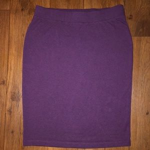Forever 21 Purple Tube Skirt